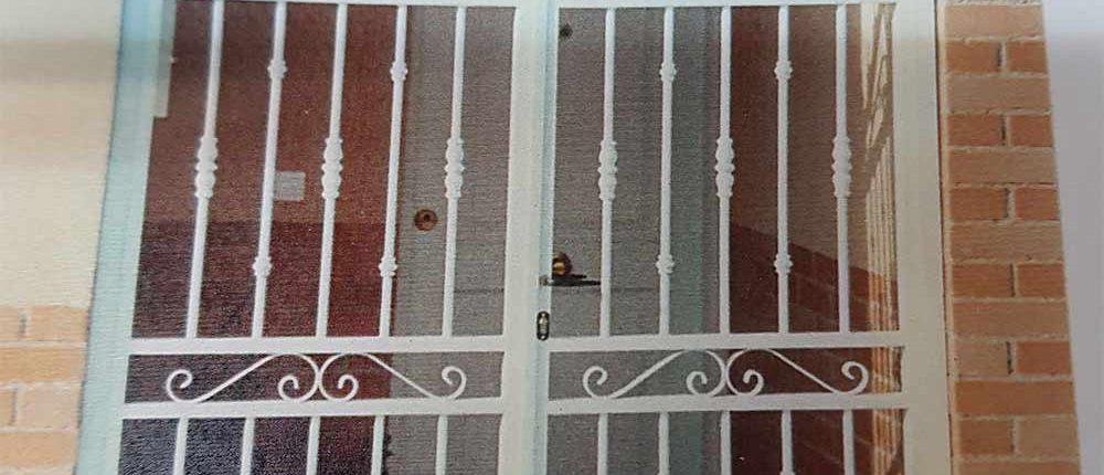 puertas, rejas y cancelas de hierro
