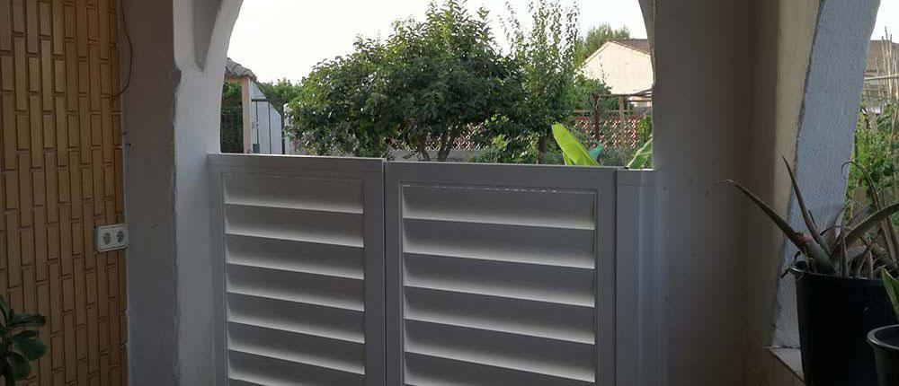 Tendencias puertas de aluminio restistentes y m s baratas for Puertas de aluminio baratas